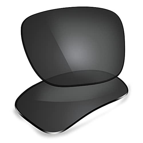 ThunderClap Lentes de repuesto polarizadas para gafas de sol Oakley Beckon OO9125, Shell Black - Polarizado, Talla única