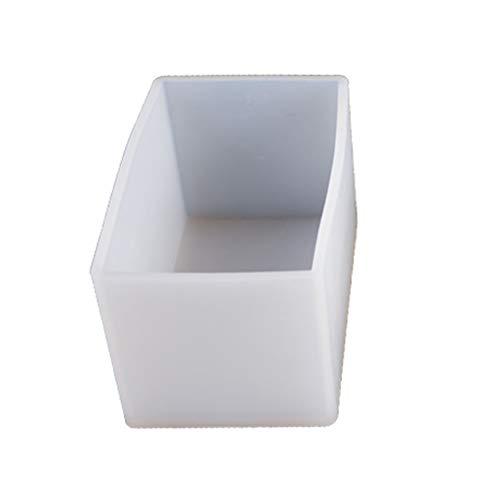 MIKI-Z - Molde de silicona con forma de cubo, resina de jabón, resina epoxy para decoración