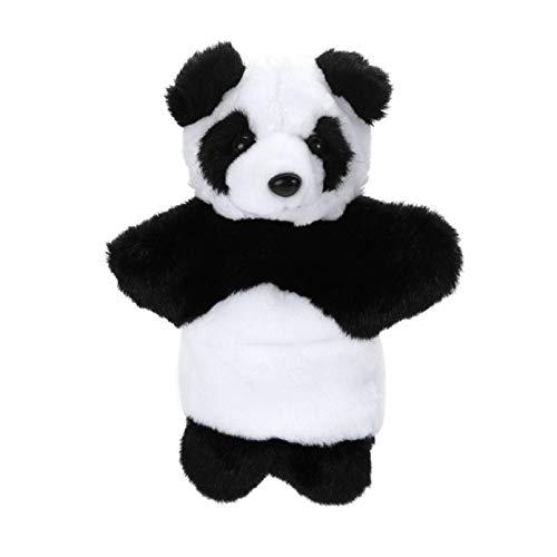 GSDJU Panda Marioneta De Mano Animal Suave Felpa Marioneta De Mano para Niños, Narración,Marionetas, Teatros, Juguete Suave, Marioneta De Mano para Niños Muñeca Suave,Regalo para Niño O Niña