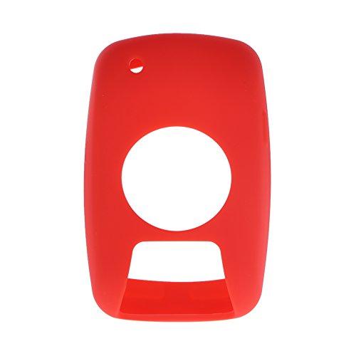 Nelnissa beschermend rubberen hoesje voor Garmin Edge 800/810 fietscomputer (rood)