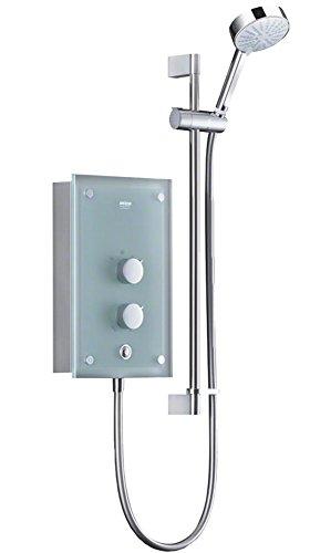 Mira Azora 9.8kW Thermostatic Electric Shower Translucent Glass Fascia 1.1634.011