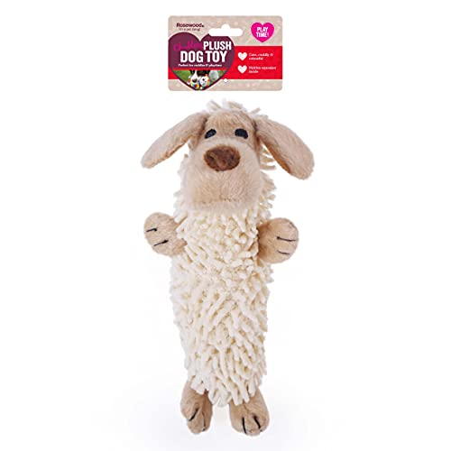 Rosewood Chubleez Noodle Buddy Plush Comfort Dog Toy with Squeaker, 21cm