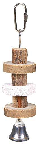 TRIXIE Piedras de Roer con piedra de Lava, 16 cm, Pájaros