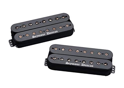 Seymour Duncan Black Winter 8 String Humbucker Set