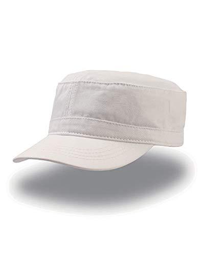 Atlantis Uniform Military Cap Chino Cotton - White - OS