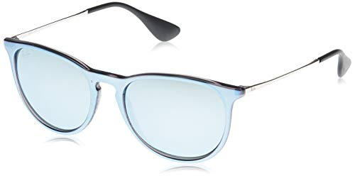 Ray-Ban Unisex-Erwachsene 4171 Brillengestelle, Grau (Grey Mirr Flash Grey), 54