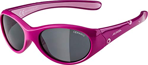 ALPINA FLEXXY GIRL Sportbrille, Kinder, pink-rose, one size