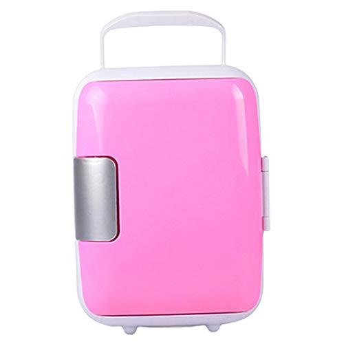 Fenteer Mini réfrigérateur Électrique 12V Réfrigérateur Portable Equipé 1 câble de Voiture - Rose