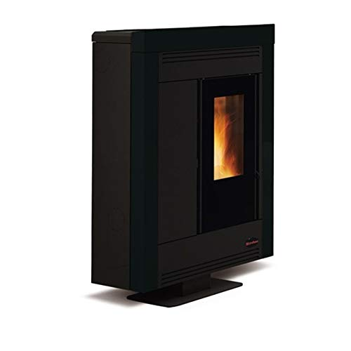 Pelletkachel ExtraFlame Souvenir Steel Zwart [Extra Flame]