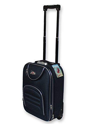 By DolceVitaRoma - VALIGIA BAGAGLIO A MANO TROLLEY EASY JET RYANAIR EASY JET ECONOMICO LOW COST (BLU)