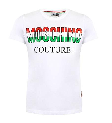 Moschino T-Shirt Kids HWM024 White ss19 8A