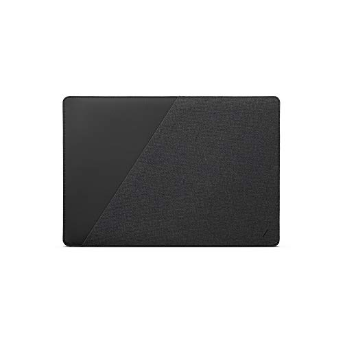 """NATIVE UNION Stow Slim for MacBook Pro 16"""", MacBook Pro 15"""" (2016-2019) – Premium MacBook Sleeve with Easy-Access Magnetic Closure and Exterior Pocket(Slate)"""