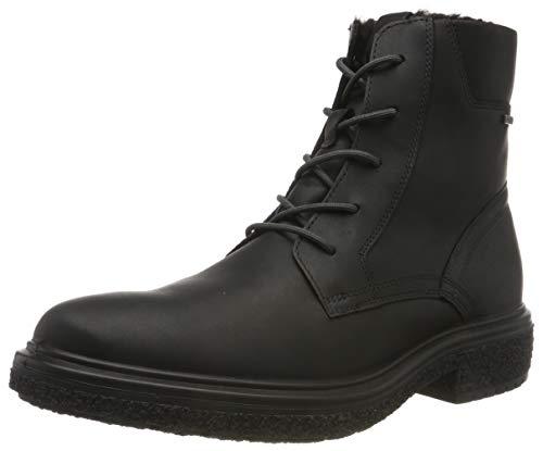 ECCO Men's Ankle Classic Boots, Black Black 1001, Womens 10