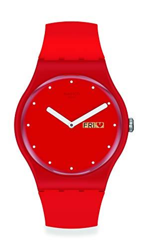 Reloj Swatch New Gent SUOZ718 P(E/A) NSE-MOI Edición Especial Limitada San Valentín