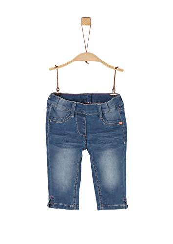 s.Oliver Junior Mädchen 403.12.004.26.180.2019552 Jeans-Shorts, 55Z2 Late Lunch Blue Denim, 104/REG