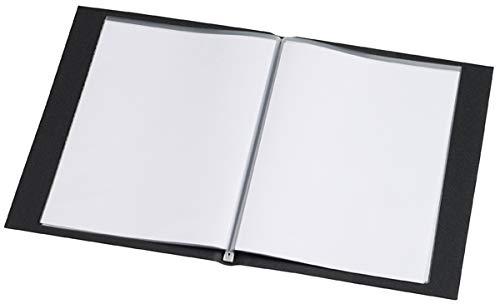 Rillstab Sichtbuch Original A5, 99514, 10 Innentaschen, schwarz