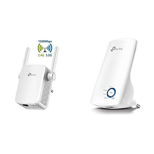 TP-Link Repetidor WiFi AC1200Mbps Extensor de Red WiFi Amplificador Enrutador Inalámbrico RE305...