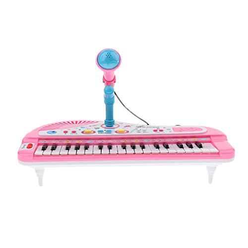 B Blesiya Juguete de Instrumentos Musicales Infantil Juego de Piano Eléctrico de...
