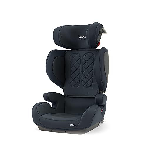 Recaro Kids, Seggiolino Mako i-Size, Seggiolino Auto (100-150 cm, circa 15-36Kg), Attacco ISOFIX, Comfort e Sicurezza, Performance Black