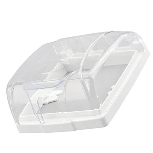 OSALADI Wetterfeste Schalterdose im Einsatz Steckdosenbox 86 Typ Schalter Steckdose Gehäuse Wandschalter Steckdose Schutzplatte Box Transparent 12,7x10,5x5cm