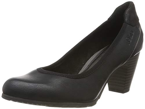 s.Oliver Damen 5-5-22404-23 001 Pumps Schwarz (Black 001), 38 EU