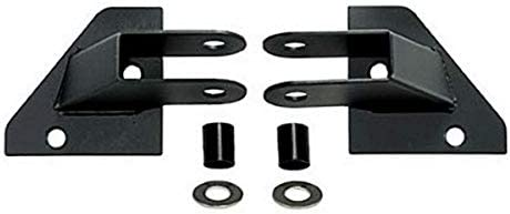 Rugged Ridge 11025 01 Black Mirror Relocation Bracket 07 18 Jeep Wrangler JK JKU product image