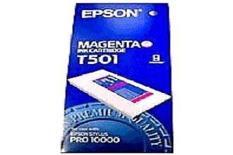 Original Epson C13T501011 / T501 tinta (magenta, volumen 500 ml) para Color Proofer 10000; Stylus Pro 10000