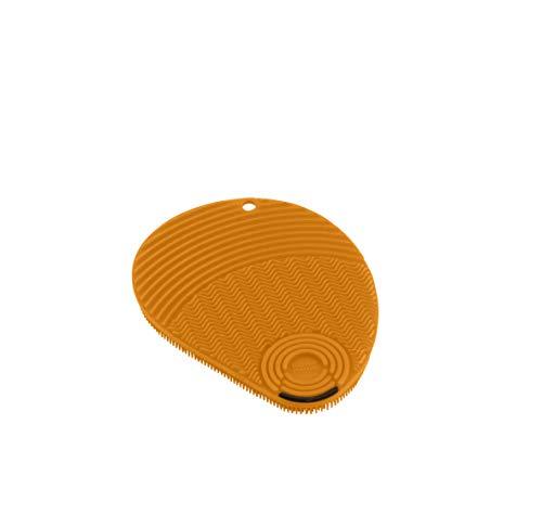 KUHN RIKON 28041 Estropajo, Silicona, Naranja, 13x10x1.2cm