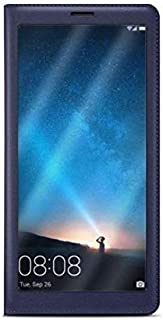 Smart Case Flip Cover For huawei Y9 2019, BLue