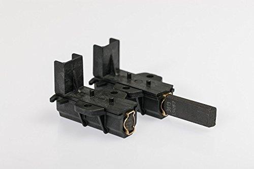 daniplus© Lot de 2 balais de charbon avec support pour moteur Candy Hoover Haier - 49028928