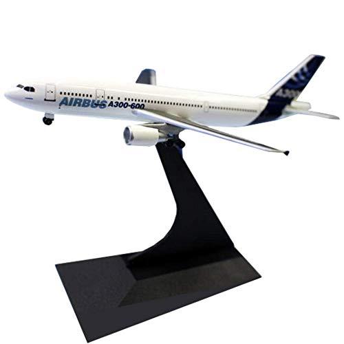 Veyron Airplane Modelo A300-600 Airbus 1/400 Avión de aleación de Escala, Adornos, Aviones Modelo, Coleccionables