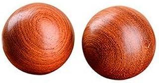 (イスイ)YISHUI 風水グッズ 中国お土産 健康球 脳 活性 ストレス 解消 開運 財運 木製 … … (イエロー)