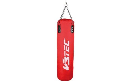 V3TEC Training Boxsack rot-schwarz-weiß