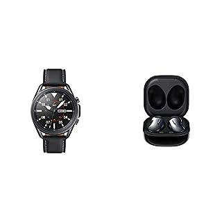Samsung Galaxy Watch 3 (45mm, GPS, Bluetooth) Smart Watch - Mystic Black with Samsung Galaxy Buds Live, T, Mystic Black (B08R966S63) | Amazon price tracker / tracking, Amazon price history charts, Amazon price watches, Amazon price drop alerts