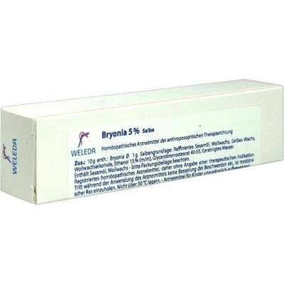 BRYONIA 5% Unguentum 25 g Salbe by BRYONIA