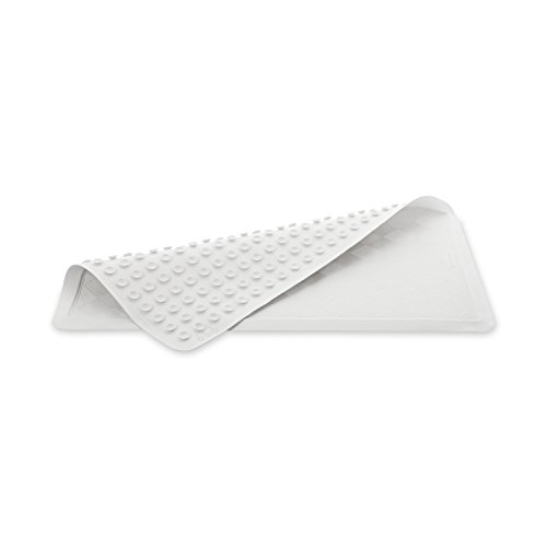 """Rubbermaid Commercial Products - 1982729 Safti-Grip Bath Mat, 36"""" X 18"""", White, Non-Slip for Tub"""