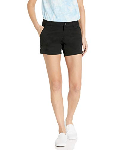 "Volcom Junior's Frochickie Slim Fit Chino Short 5"", Black"