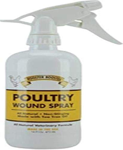 Rooster Booster Poultry Wound Spray, 16-Ounce