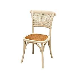 Biscottini Chaise bois Thonet 88x50x45 cm | Chaise salle a manger | Chaise cuisine en bois massif | Chaise bistrot…