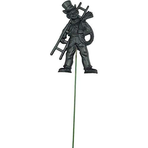 bastelix.eu Schornsteinfeger aus Kunststoff mit Drahtstiel ca. 20cm lang 10 Stück