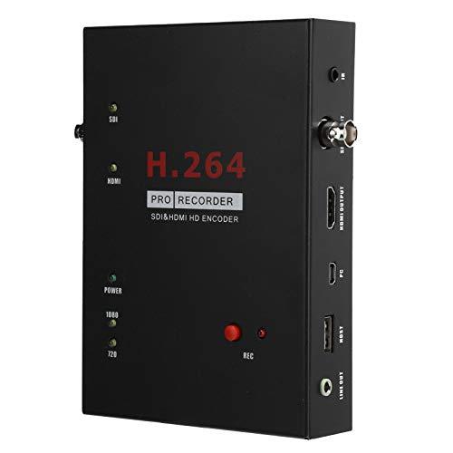 Sxhlseller Tarjeta de Captura de Video HD, Grabador de Captura de Video Transmisión en Vivo con Control Remoto para Cámara, Decodificador, TV de Alta Definición, Juegos, Etc.