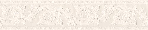 A.S. Création Bordüre Only Borders Borte 5,00 m x 0,13 m beige creme Made in Germany 282729 2827-29