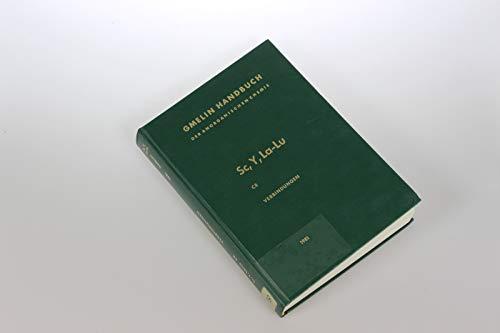 Verbindungen mit Schwefel (Fortsetzung): Sulfidhalogenide, Sulfate, Salze weiterer Schwefelsäuren sowie entsprechende Alkalidoppelverbindungen (Gmelin ... Chemistry - 8th edition (S-c... / C / 8))