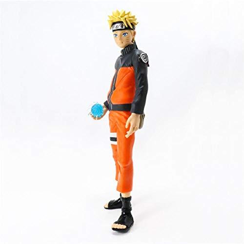 Anime Spielzeugnaruto Shippuden Uzumaki Figur Spielzeug Grandista Shinobi Beziehungen Figur PVC Modell Sammlerpuppen 28Cm