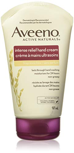 Aveeno Skin Relief Intense Moisture Hand Cream with Soothing Oat and Rich Emollients for Dry Skin