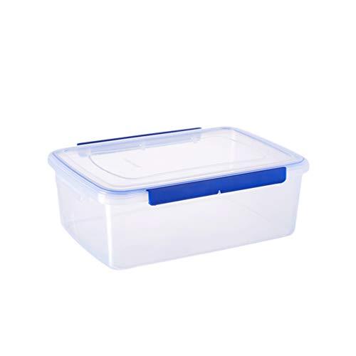 Hemoton Recipientes de almacenamiento con tapas de 10 l – Recipientes con tapas para alimentos – Caja Bento reutilizable para almuerzo con tapas de bloqueo