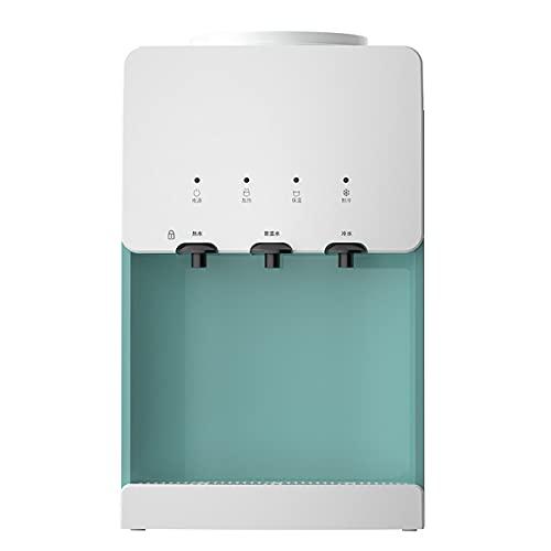 GAYBJ Dispensador de Enfriador de Agua Dispensador de Agua de Escritorio Dispensador de Agua Independiente de Carga Superior con Agua fría y Caliente con Tanque de Acero Inoxidable