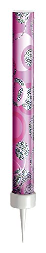 Unique Party 37327 - Glitz Pink Birthday Fountain Candles, Pack of 3