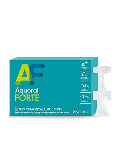 Aquoral Forte Gotas Oftálmicas C/ Ac Hialurónico 0,4% 30 Monod