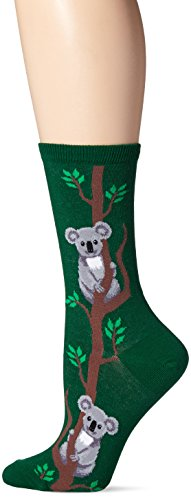 Hot Sox Damen Animal Series Novelty Casual Crews Climbing Koala (Wald) Schuhgröße: 37-44